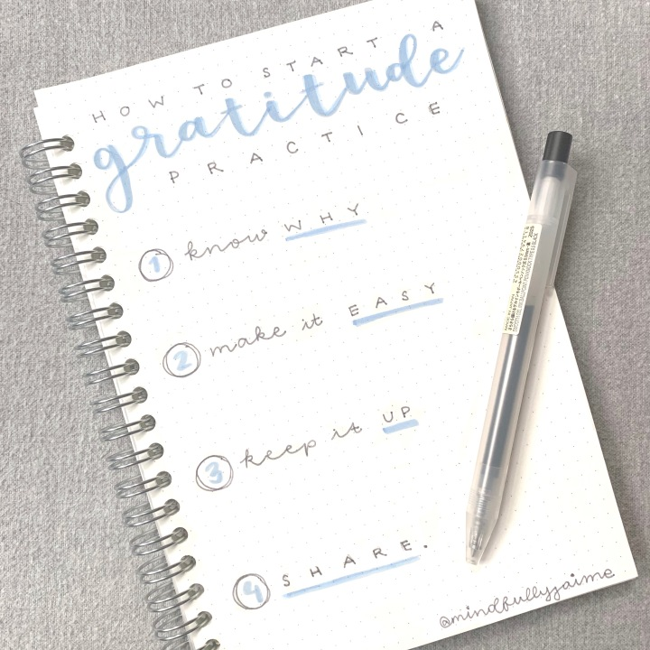 Workshop: Gratitude Journaling with MUJI